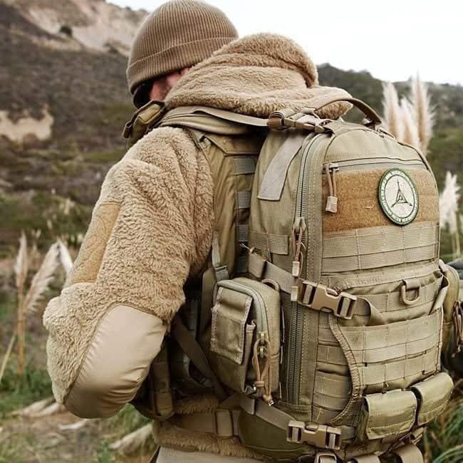 KOMBAT Ejército Militar Exterior Grande 100 Litro Asalto PETATE MOCHILA