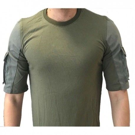 Camiseta Táctica Urbana - Color Verde