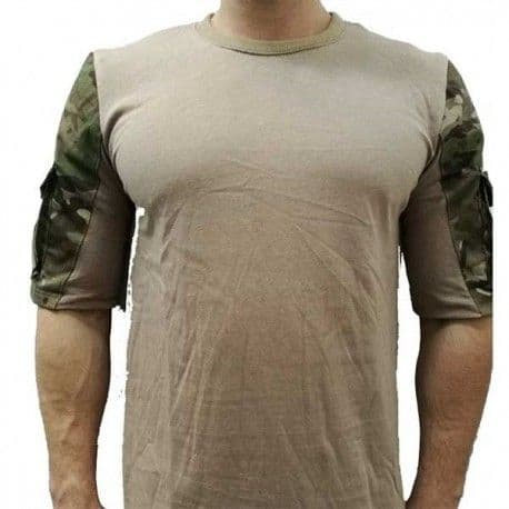 Camiseta Táctica Urbana - Multicam
