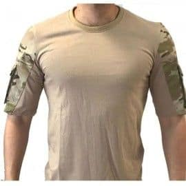 Camiseta Táctica Urbana - Multicam Arido