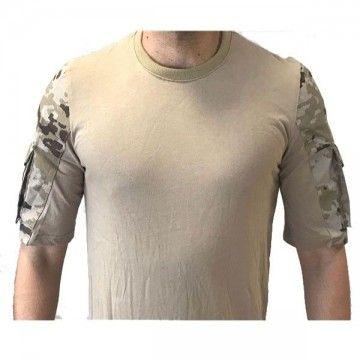 Camiseta Táctica Urbana - Árido Pixelado