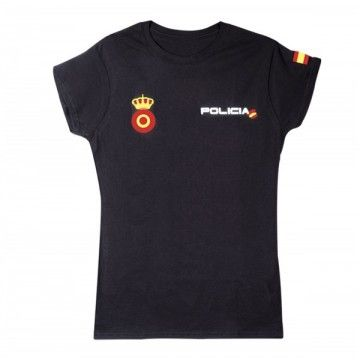 T-shirt of the armed forces. Black