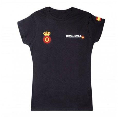 Camiseta de la Policia Nacional Mujer