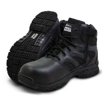 """Botas de respuesta táctica Force 8"""" en negro de Original Swat."""