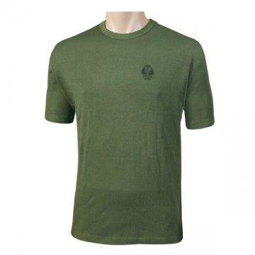Camiseta ET Español con logo pequeño, verde