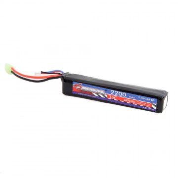 Batería DP-L7-009 7.4V 2200mAh 15C LiPO (1) 126x21x19mm