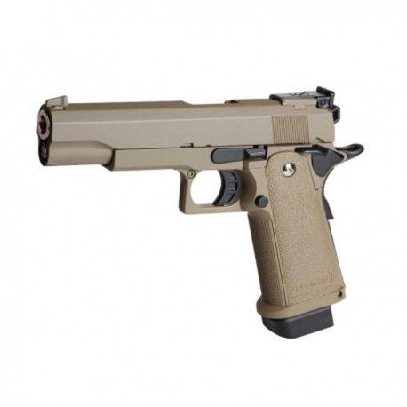 PISTOLA GOLDEN EAGLE HI CAPA 5.1 GAS TAN
