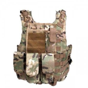 Chaleco Táctico tipo FSBE en Multicam