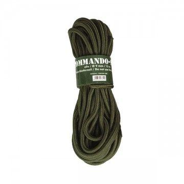 Cuerda Commando 15M en verde de MILTEC