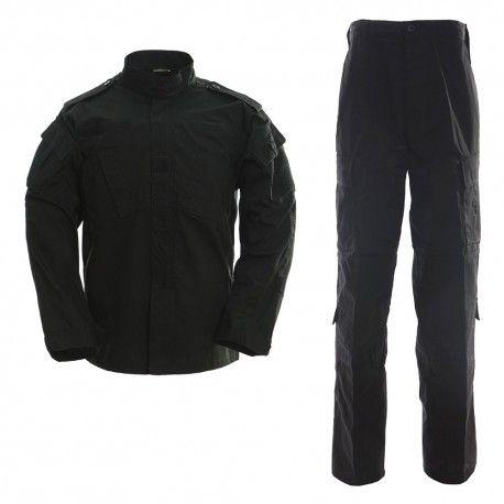 Uniforme militar en camuflaje ACU Black de Dragonpro