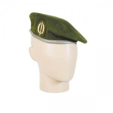Boina COE con emblema en verde