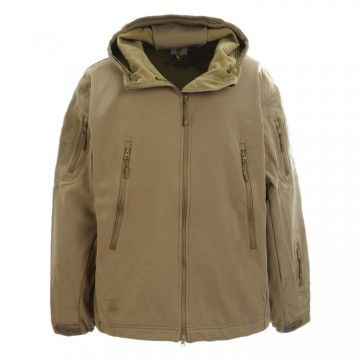 Chaqueta 3-Layer en camuflaje TAN