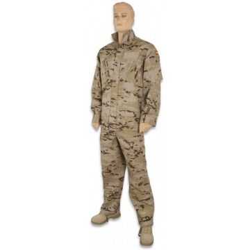 Military type arid camo uniform
