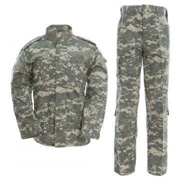 Uniforme militar en camuflaje ACU Digital