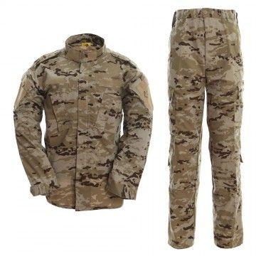 Uniforme militar en camuflaje Árido pixelado