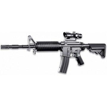 Fusil de muelle M4 Assault Spring con Visor