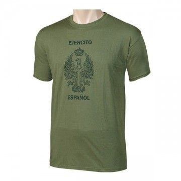 Camiseta Ejército de tierra Español, verde khaki