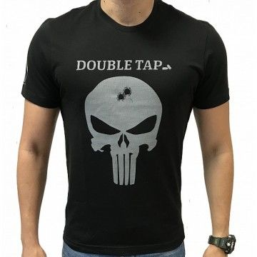 Camiseta SKULL Double TAP de IMMORTAL