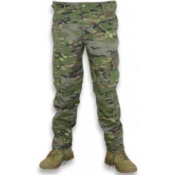 Pantalón Ejército Español boscoso pixelado