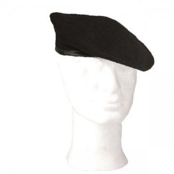 Boina Ejercito de color negro