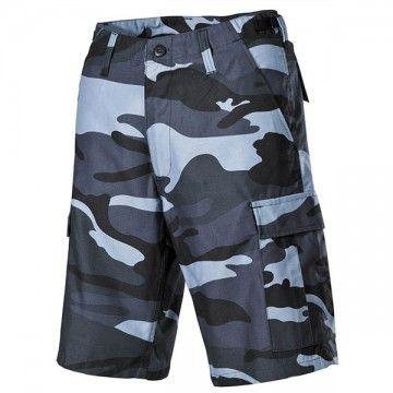 Pantalones cortos M65 BLue Camo