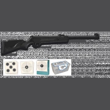 Carabina de Aire comprimido junior, del calibre: 4.5 mm, con punto de mira Truglo