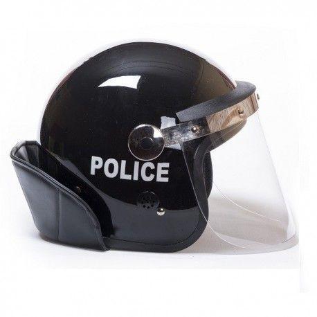 Casco Policia Antidisturbios con pantalla