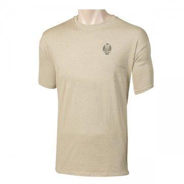 Camiseta ET Español con logo pequeño, Beige