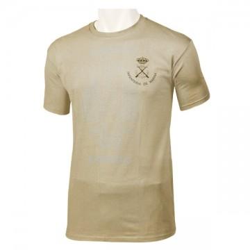 Camiseta de la Infantería de Marina Española beige