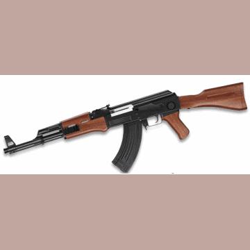Fusil Ruso réplica AK-47 en ABS y muelle