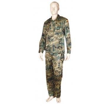 Uniforme militar de camuflaje camo, tipo Ejército Español