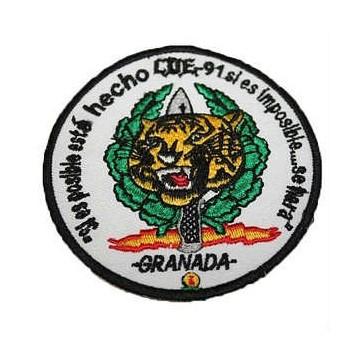 PARCHE BORDADO COE TIGRE GRANADA