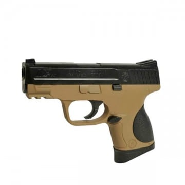 Pistola para airsoft Smith & Wesson M&P9 - TAN-NEGRA