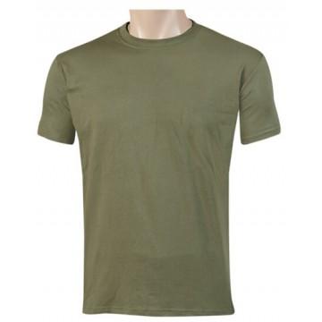 Camiseta manga corta en verde OD