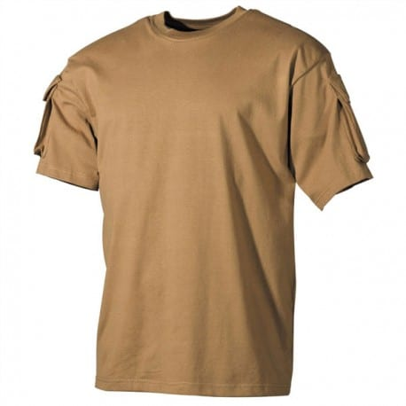 Camiseta Táctica manga corta - Beige