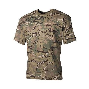 8742bd11b Camiseta Táctica manga corta - Multicam