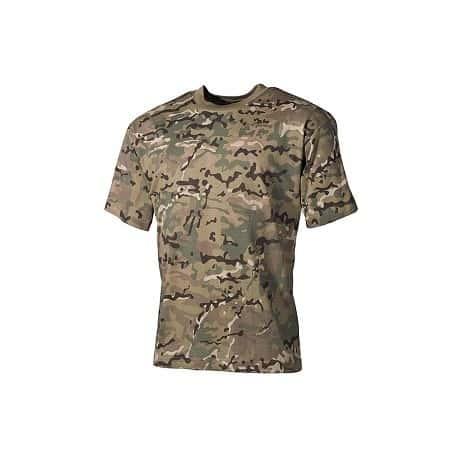 Camiseta Táctica manga corta - Multicam
