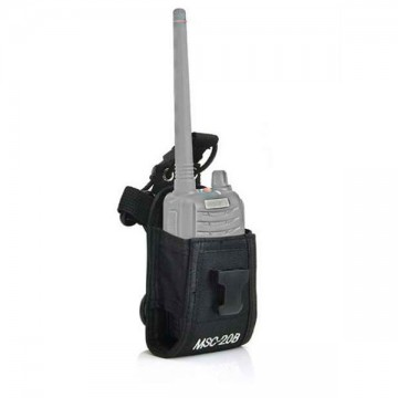 FUNDA WALKIE BAOFENG MSC-20B NEGRA