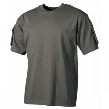 Camiseta Táctica manga corta - Verde