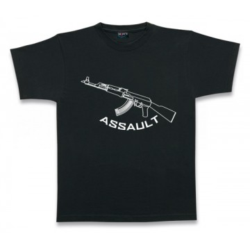 T-shirt Barbaric, model Assault. Black