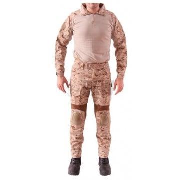 Uniforme de combate GEN3 en camuflaje AOR1 de Emerson