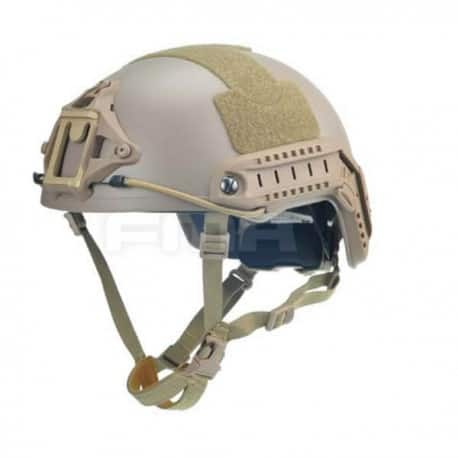 CASCO FMA BALLISTIC CUT XP ATRÁS ROSCA TAN