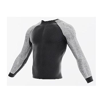 Camiseta con mangas anti corte para chaleco Nivel 5