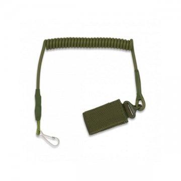 Cordón de seguridad para pistola ancho verde