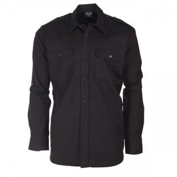 Camisa Cuadrille en Negro de MILTEC
