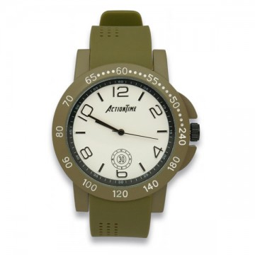 RELOJ TACTICO ACTION TIME TAN