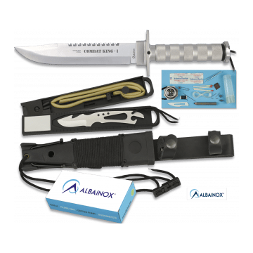 Survival of 36 Cm, model KING I COMBAT knife Albainox