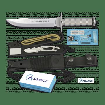 Überleben von 36 Cm, model KING ich COMBAT knife Albainox