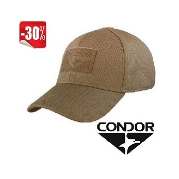 Gorra Condor Flex tactical en color coyote