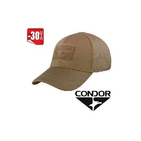 Gorra Condor Flex tactical en color coyote